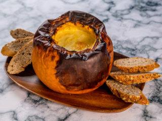 roast pumpkin fondue