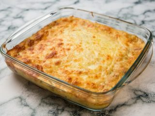 Creamy Leek and Potato Casserole