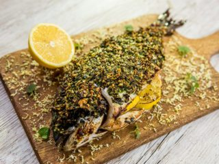 Herb Crusted Sea Bream