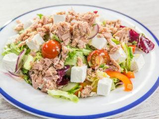 Fresh Tuna and Feta Salad