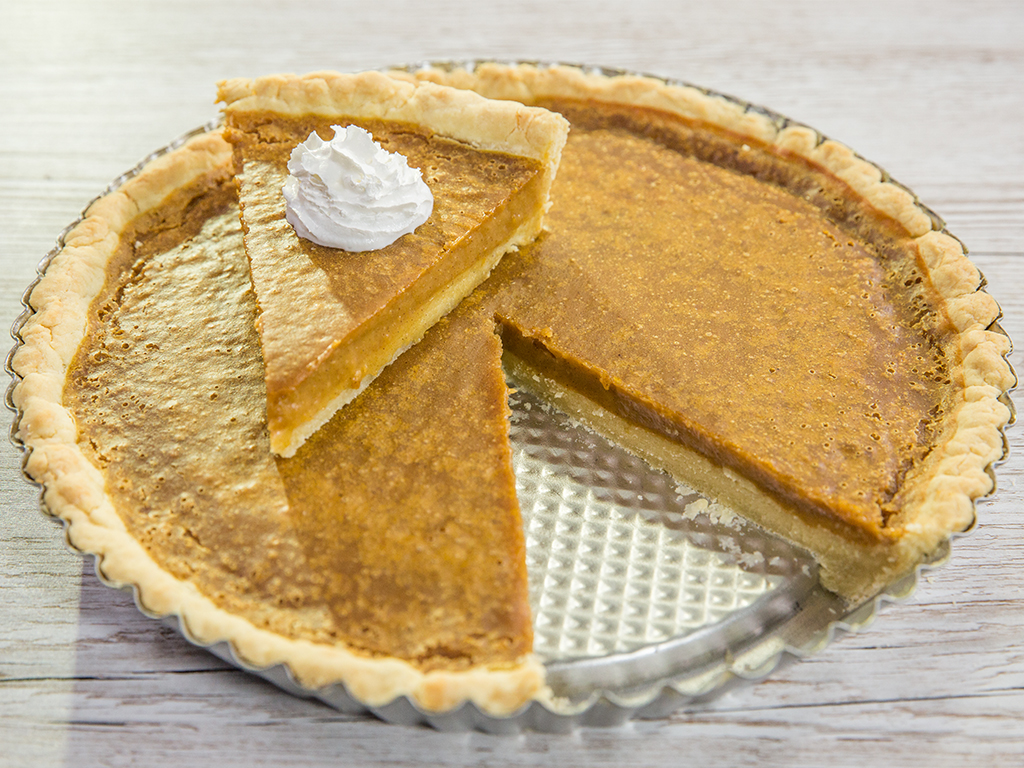 Butternut Squash and Coconut Pie