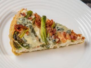 Asparagus and Three-Cheese Tart