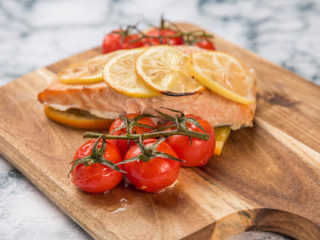 Salmon and Citrus Baked in Foil