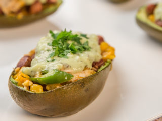 Taco Stuffed Avocado Shells