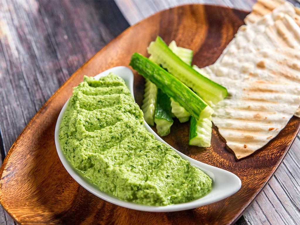 Cauliflower and Spinach Dip -