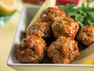 Turkey Meatballs in the Oven