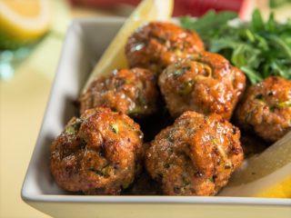 Turkey Meatballs in the Oven