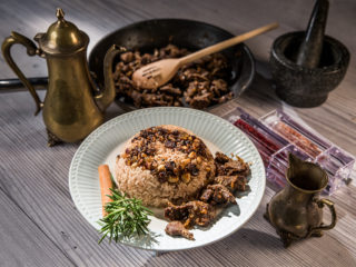 Egyptian Khalta Rice with Beef