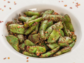 Spiced Up Green Beans