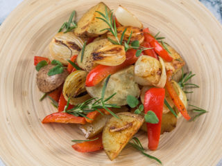 Rosemary Roasted Veggies