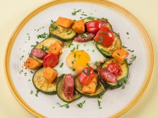 Baked Egg and Veggie Breakfast