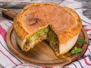 cheesy ground beef pot pie