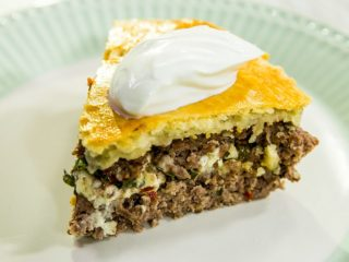 Lamb and Feta Pie