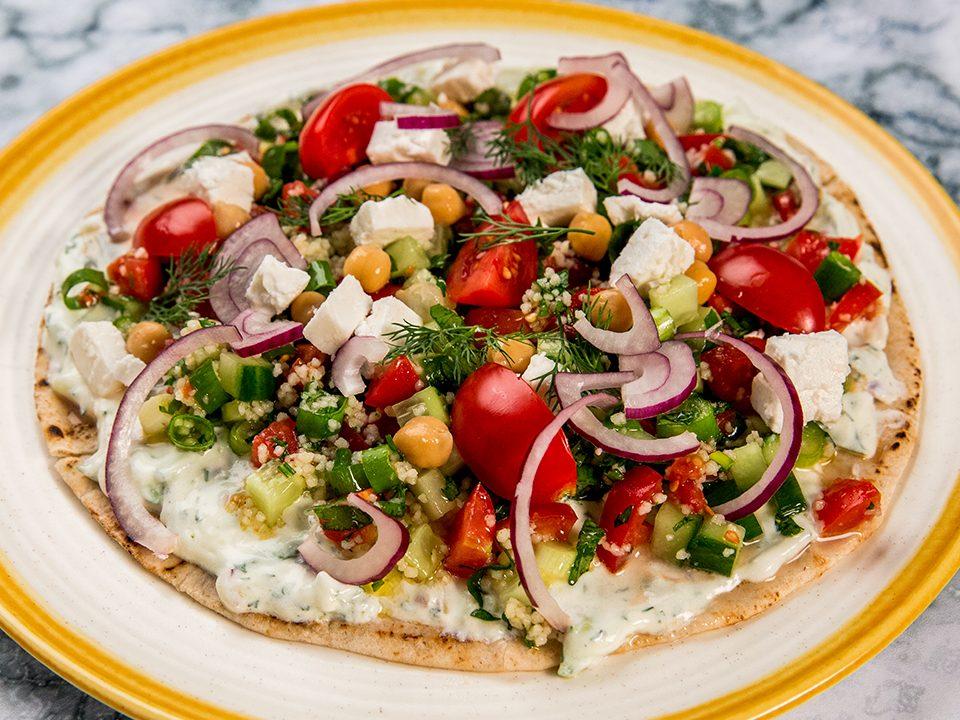 Middle Eastern Pita Sandwich