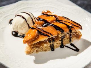 Caramel No-Bake Cake