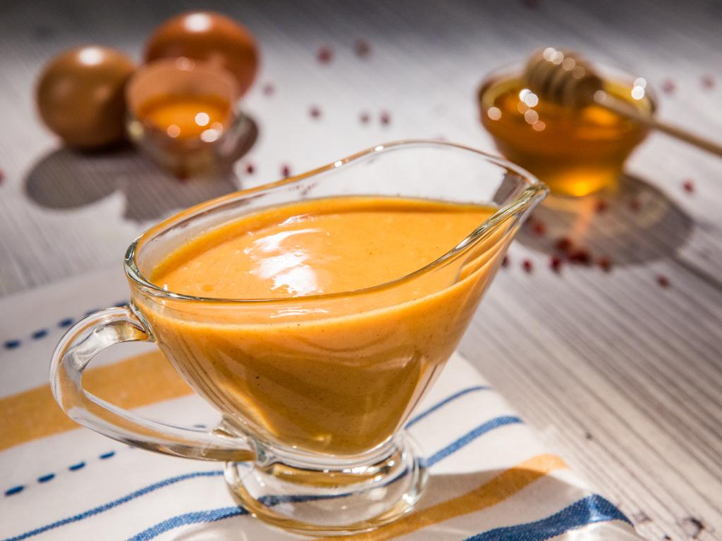 Homemade Honey-Mustard Sauce