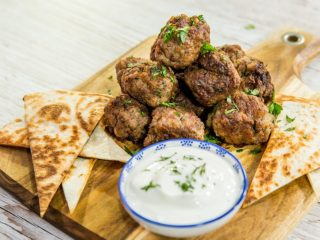 Beef and Pork Meatballs