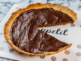 Chocolate Pudding Tart