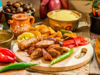 Homemade Pork Sausages