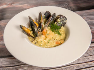 Creamy Seafood Risotto