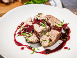 Braised Pork with Red Wine Sauce