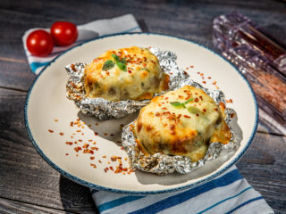 Ultra-Cheesy Stuffed Potatoes