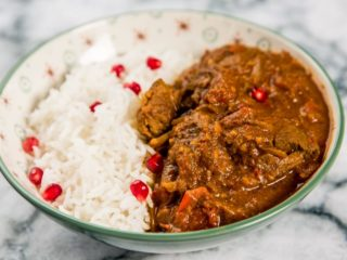 Lamb Stew with Phall Curry