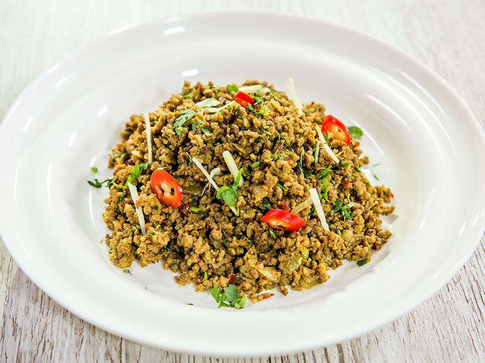 Hot and Spicy Pork Mince