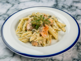 Creamy Penne with Salmon