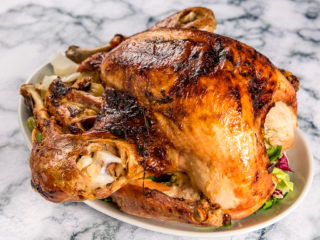 Mayo Roasted Turkey