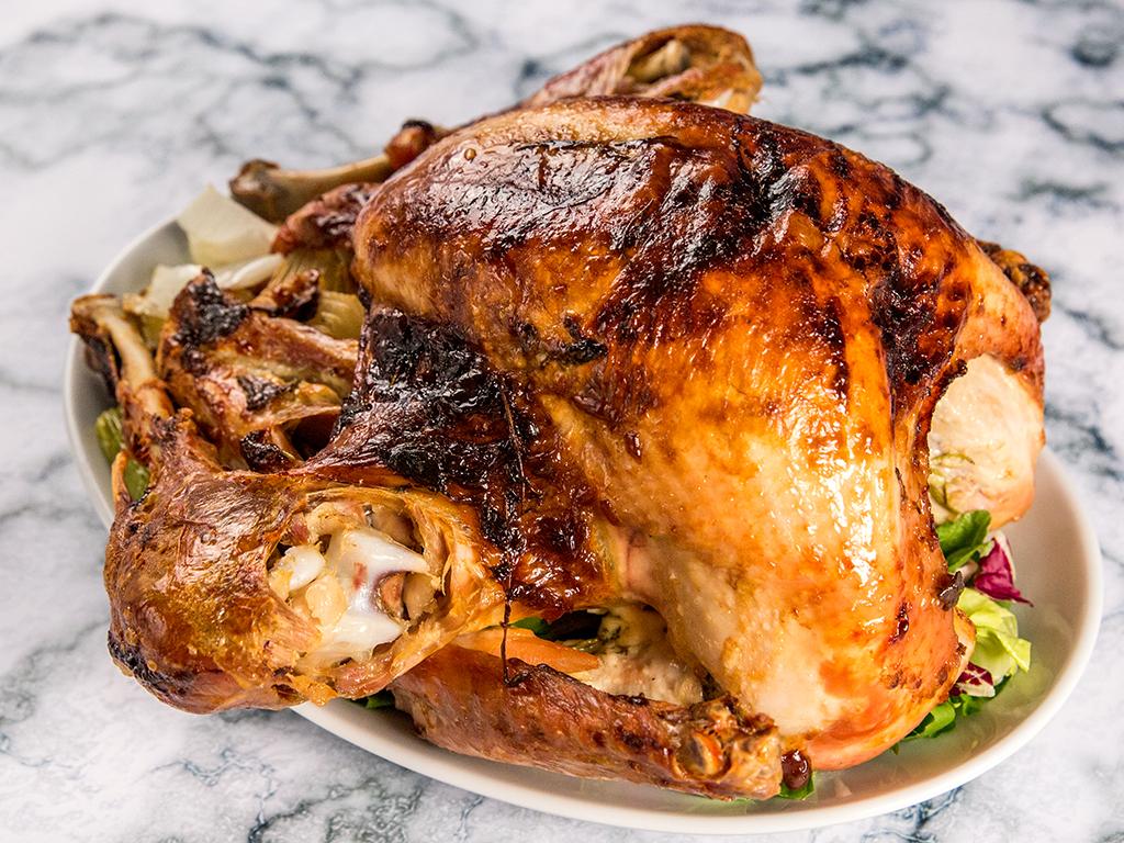 Mayo Roasted Turkey
