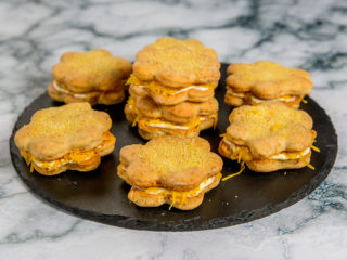Cheddar and Mayo Cookies