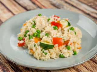 Chicken and Veggie Risotto