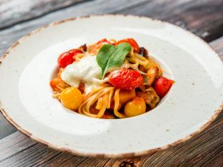 Al Forno Pasta with Eggplant
