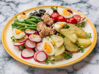 Salade Nicoise with White Wine-Mustard Vinaigrette