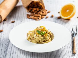 Sweet Almond Tagliatelle