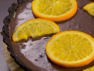 Oreo and Orange Chocolate Cake
