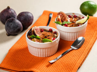 Fig Crumble Dessert