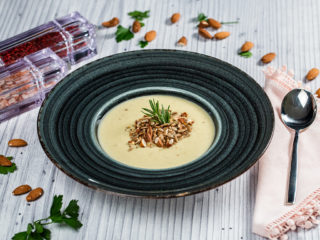 Potato, Celery and Leek Cream Soup
