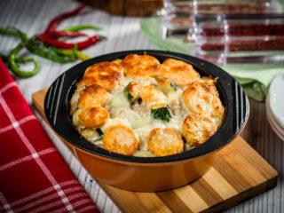 Turkey Mince, Sweet Potato and Zucchini Bake