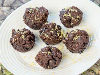 Oat and Banana Chocolate Muffins