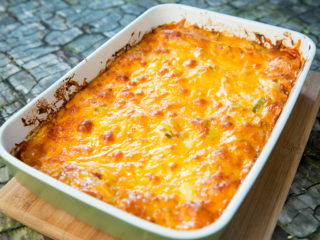 Cheesy Chicken and Lasagna Casserole