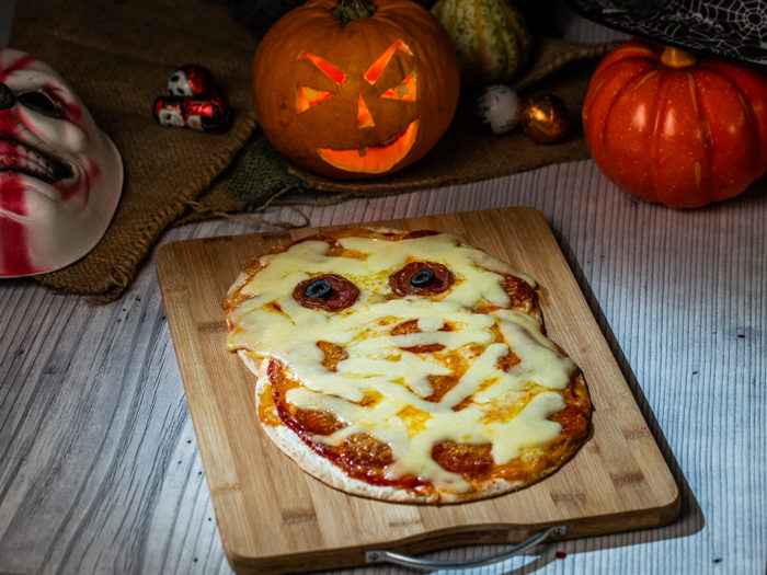 Flatbread Pizza Mummy