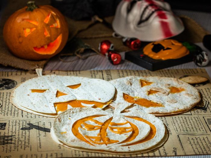 Halloween Quesadillas