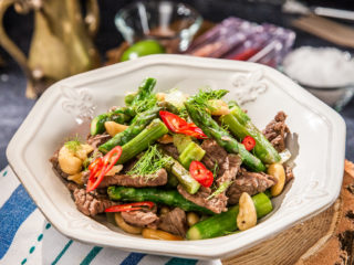 Stir-Fry Beef and Asparagus