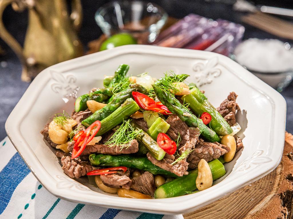 Stir-Fry Beef and Asparagus