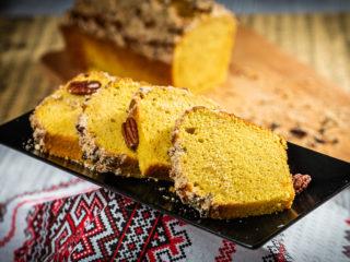 Cinnamon Pecan Pumpkin Bread
