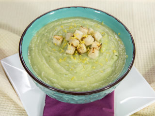 Potato, Cauliflower and Celery Cream Soup