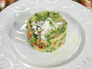 Pea and Cucumber Quinoa Salad