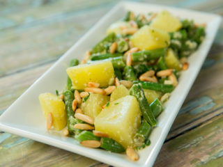 Potato and Green Bean Warm Salad
